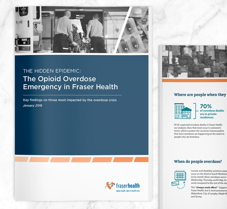 Opioid Overdose Report 2019 Design by Sarah Eno